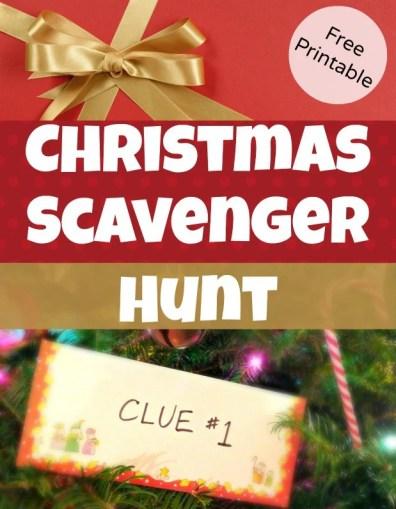 Christmas Scavenger Hunt StuffedSuitcase