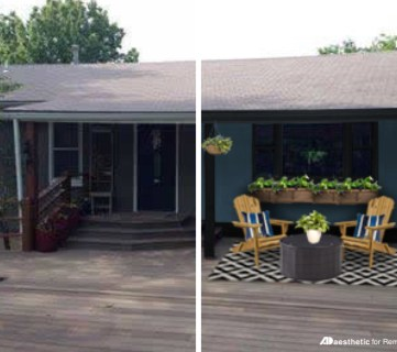 Real Life Rooms: Curb Appeal for a Dark Home Exterior
