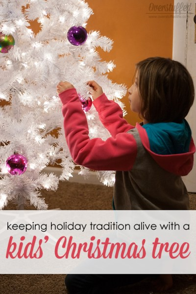 Keeping Holiday Tradition Alive With A Kids' Christmas Tree