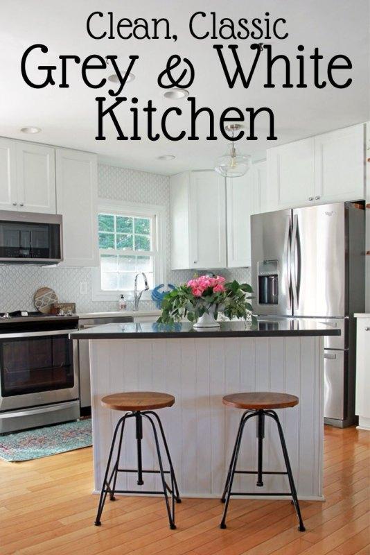Small White Kitchen Reveal Ft2