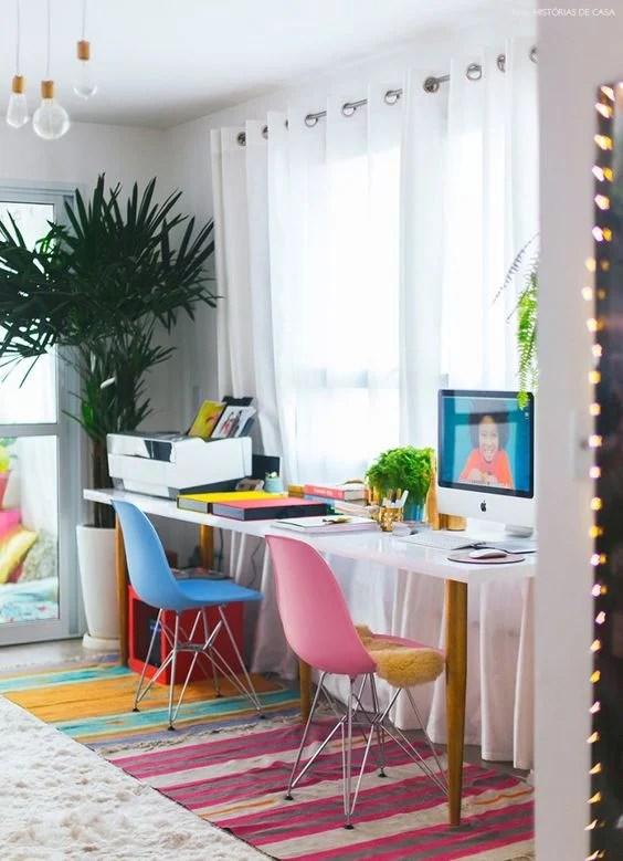 colorful home office. Colorful Home Office Inspiration O