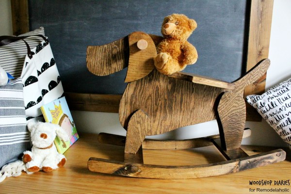 Classic Rocking Horse Twist Diy Wooden