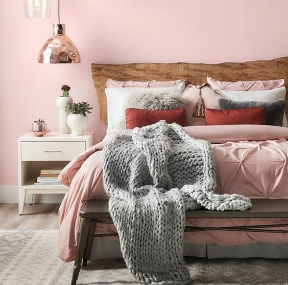Blush Bedroom Inspiration 9