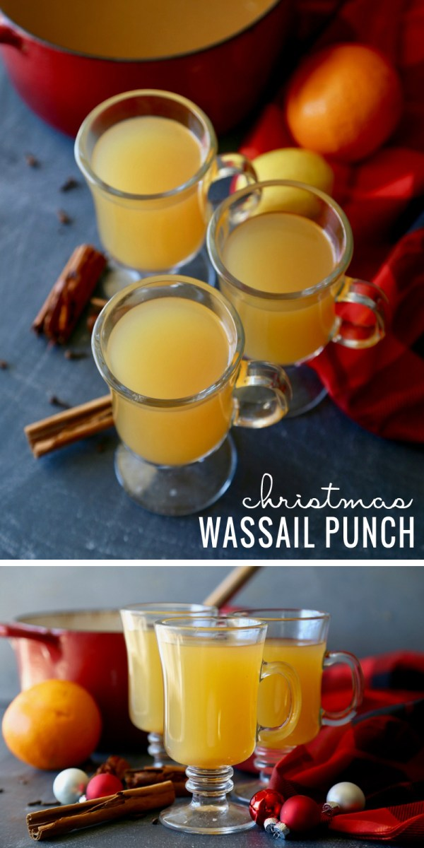 Get feeling festive with this delicious Christmas Wassail Punch recipe at Remodelaholic.com