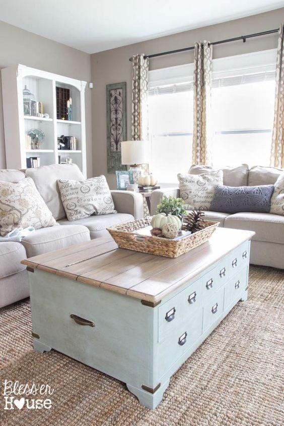 Farmhouse Family Room Mood Board by Postbox Designs E-Design