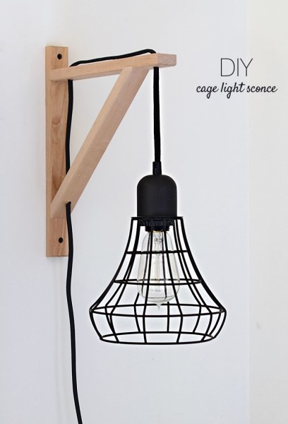 Diy Cage Light Sconce Edited 2