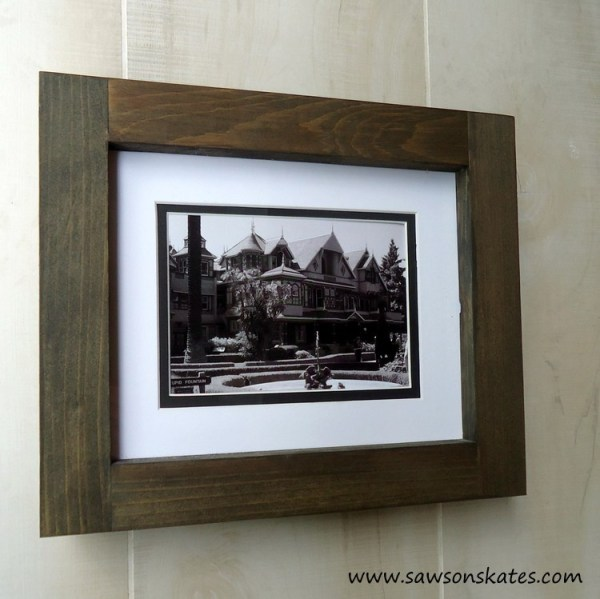 Diy Gift Idea, Chunky No Miter Picture Frame