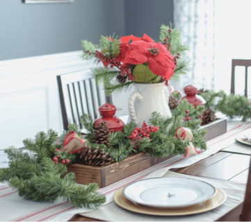 Friday Favorites: More Christmas Decor and a Faux Mantel