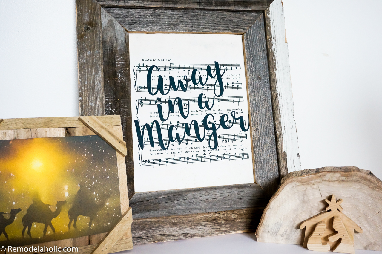 photograph relating to Free Printable Vintage Christmas Sheet Music identified as Remodelaholic 25+ Cost-free Printable Basic Xmas Sheet