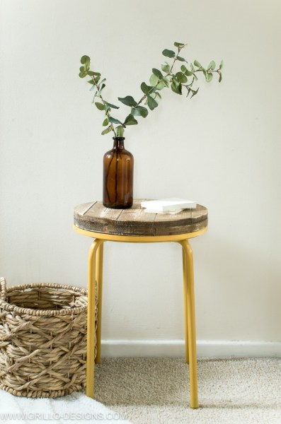 Industrial Side Table Tutorial Grillo Designs