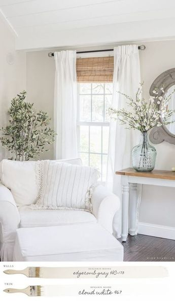 Farmhouse Family Room Mood Board by