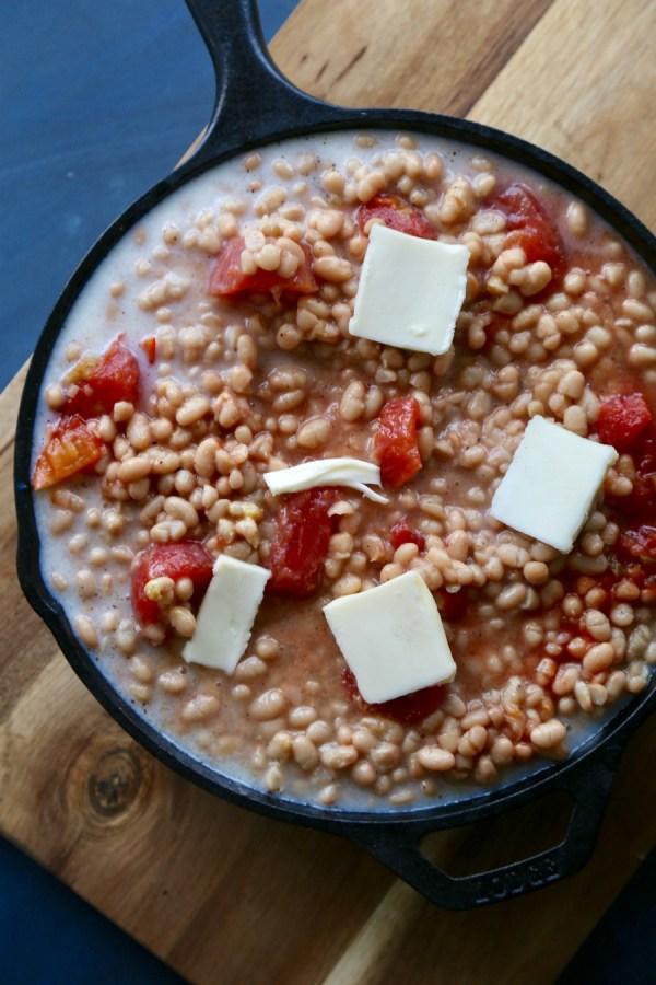 Creamy White Beans 4
