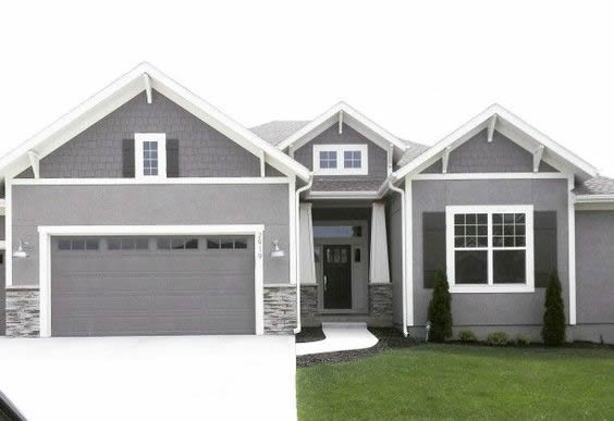 Remodelaholic Real Life Rooms Garage Door Curb Appeal Dilemma