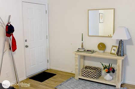 Entryway Makeover 2