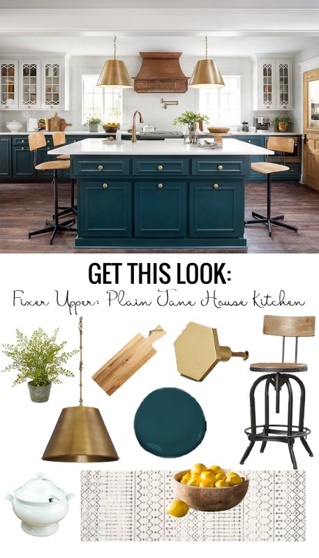 Fixer Upper Plain Jane House Kitchen