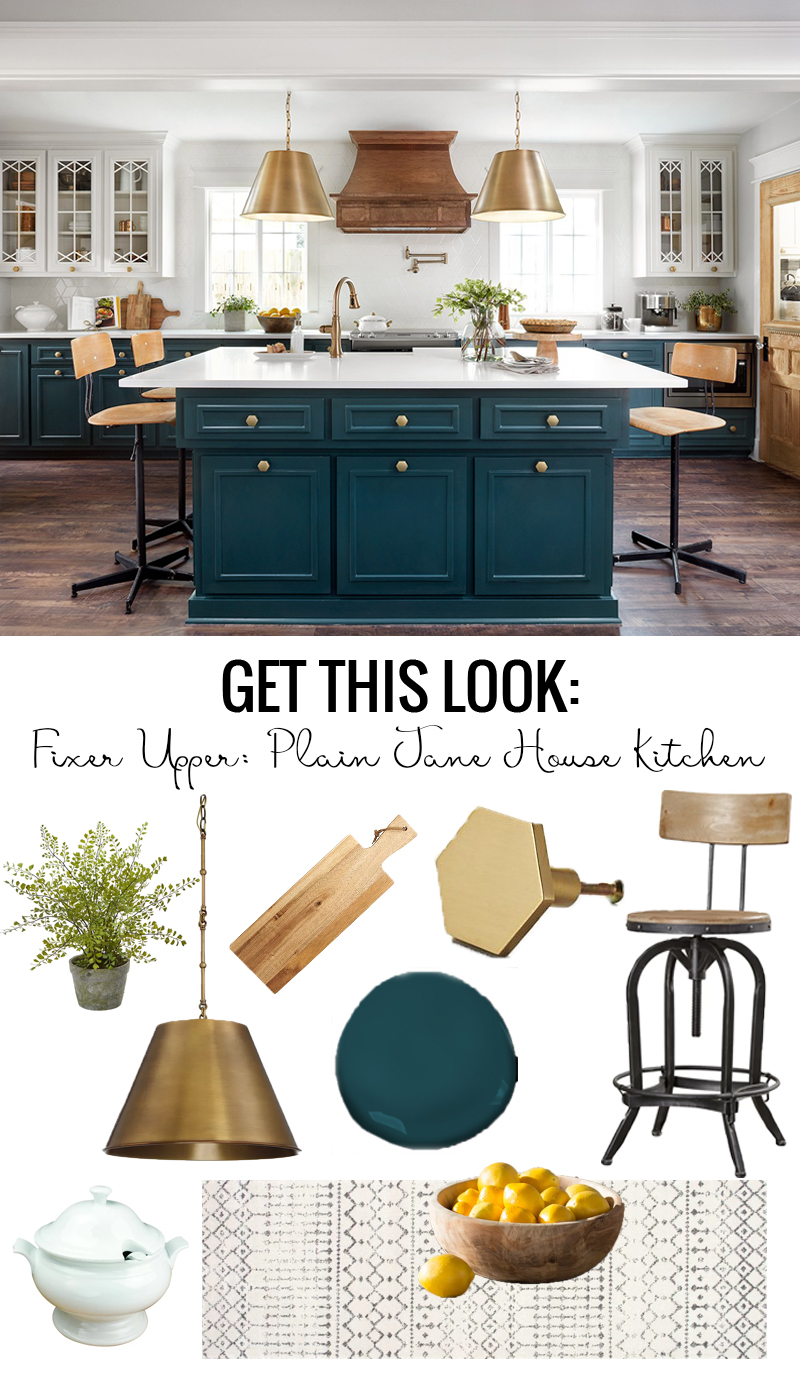 chip kitchen cabinets caddy remodelaholic | get this look: fixer upper plain jane ...