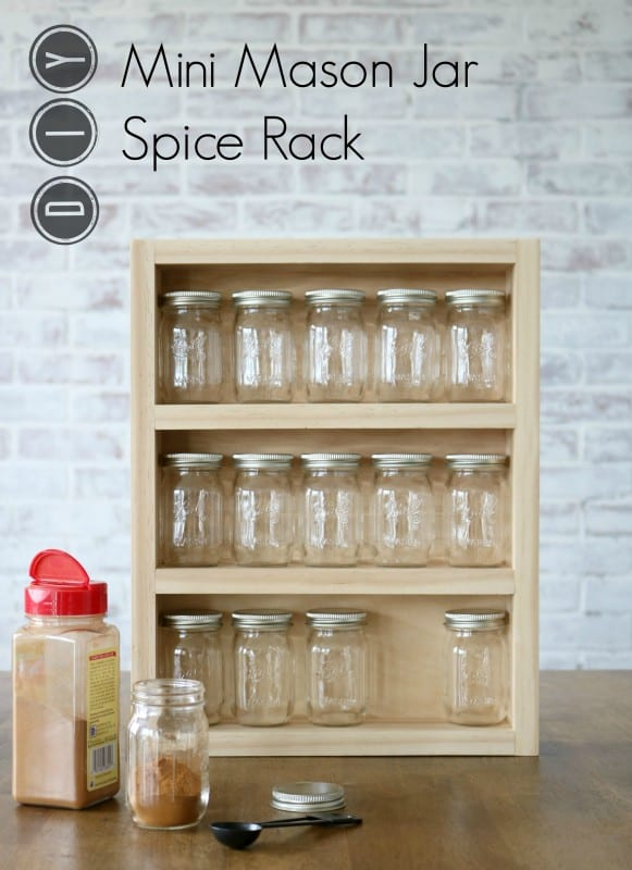 diy kitchen pantry cabinet plans bar chairs remodelaholic | build a mini mason jar spice rack