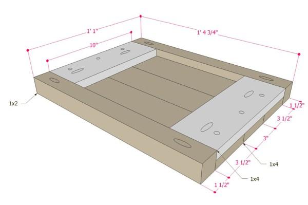 Multi Use Side Table Building Plan Apieceofrainbowblog (8)