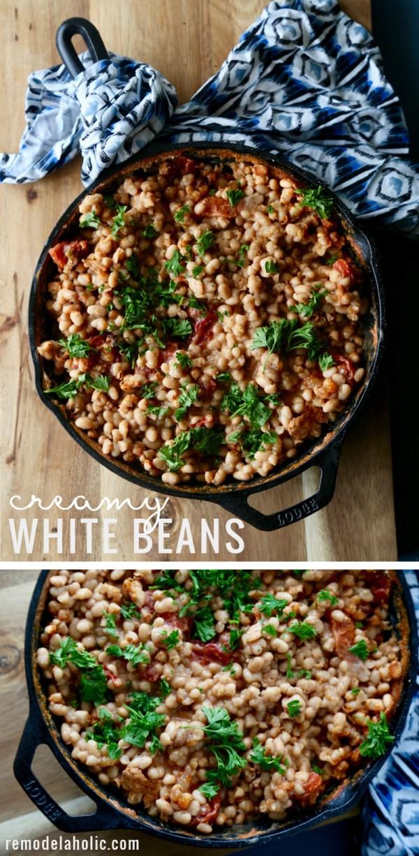 Creamy White Beans