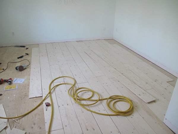 Best DIY Tutorials And Tips, Plywood Plank Flooring Sharktails