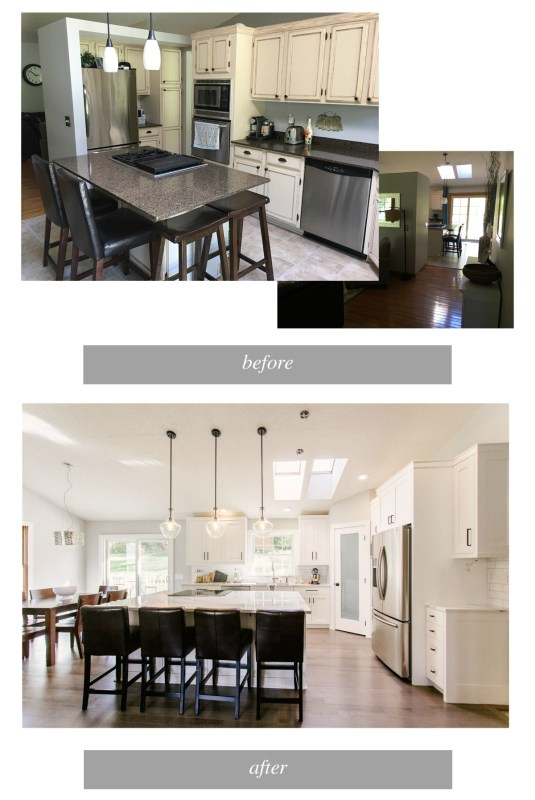 Best DIY Tutorials And Tips, Timeless White Kitchen Renovation Construction2style