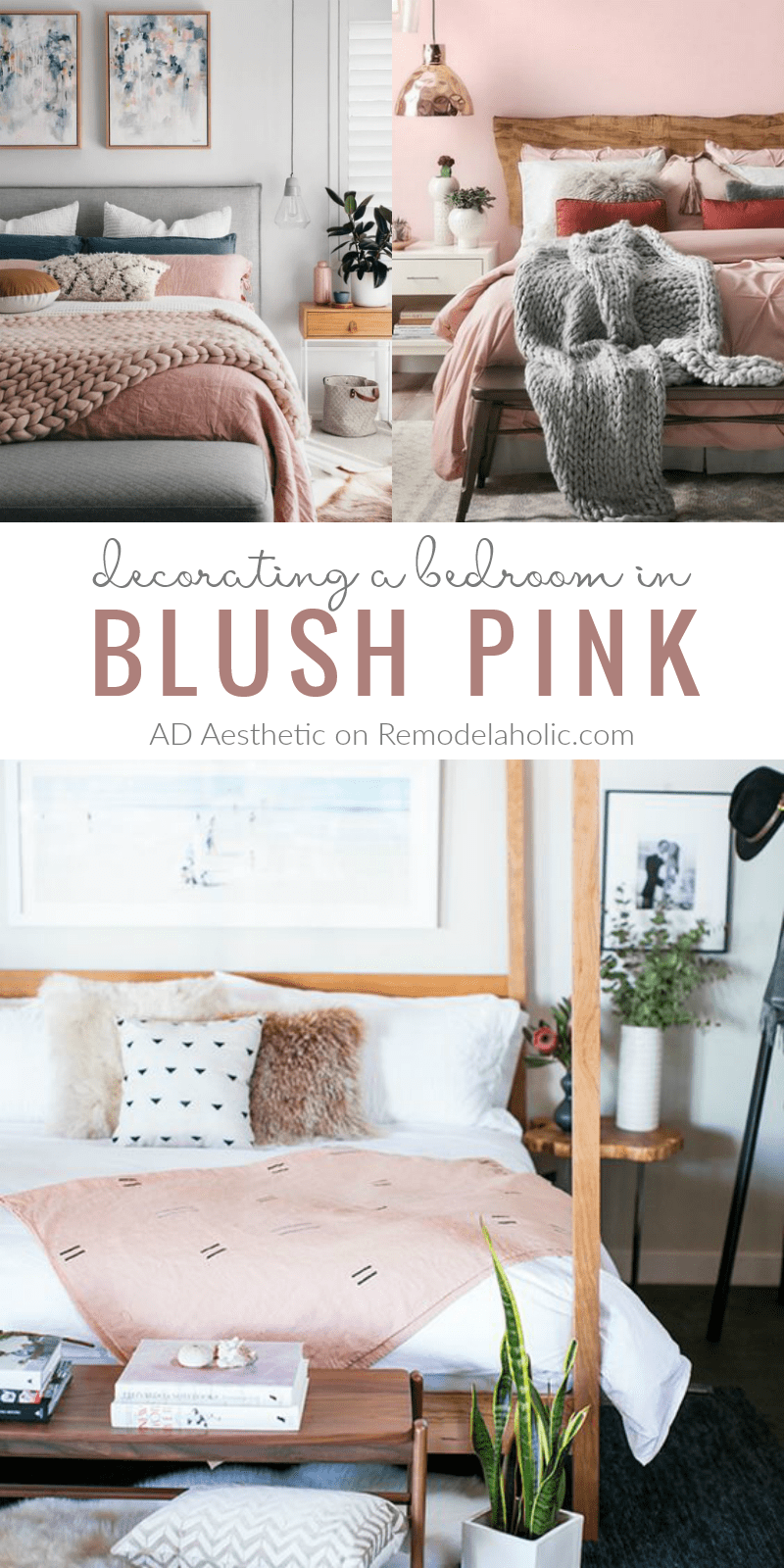 remodelaholic pretty in pink blush pink bedroom inspiration rh remodelaholic com