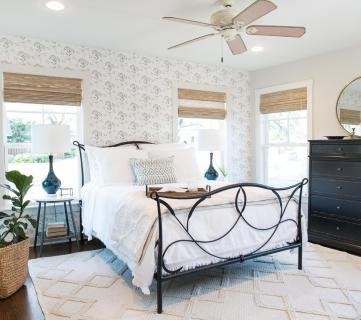 Get This Look: Fixer Upper Baker House Master Bedroom