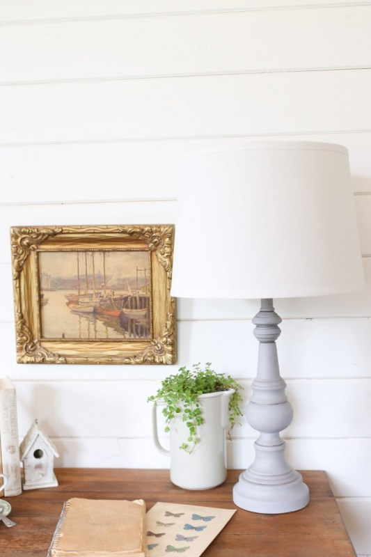 Chalk Painted Lamp This Mamas Dance 4 768x1152