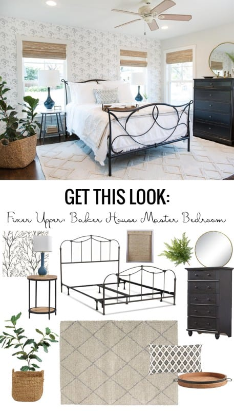 Fixer Upper Baker House Master Bedroom: Get This Look ideas featured on Remodelaholic.com Image viaMagnolia Market Used with permission