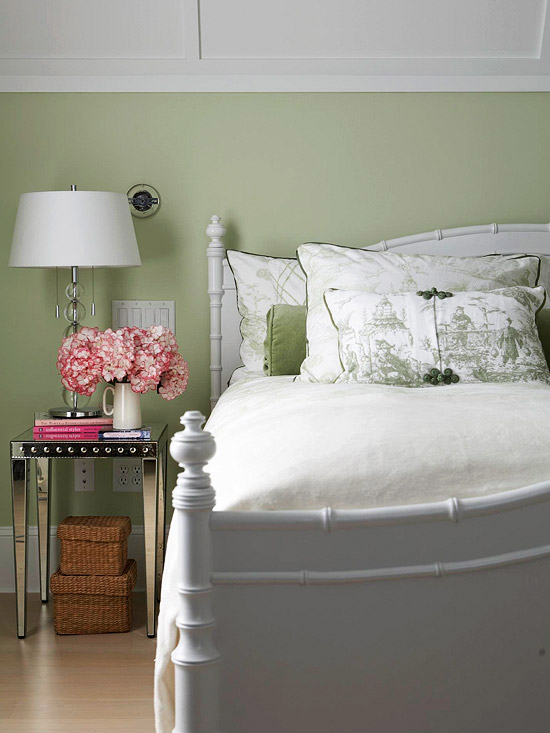 Sage Green Bedroom BHG