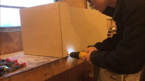 Woodshop Diaries Toy Box Screw Bottom In Place