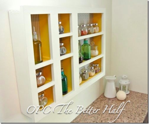Custom Spice Shelf OPC