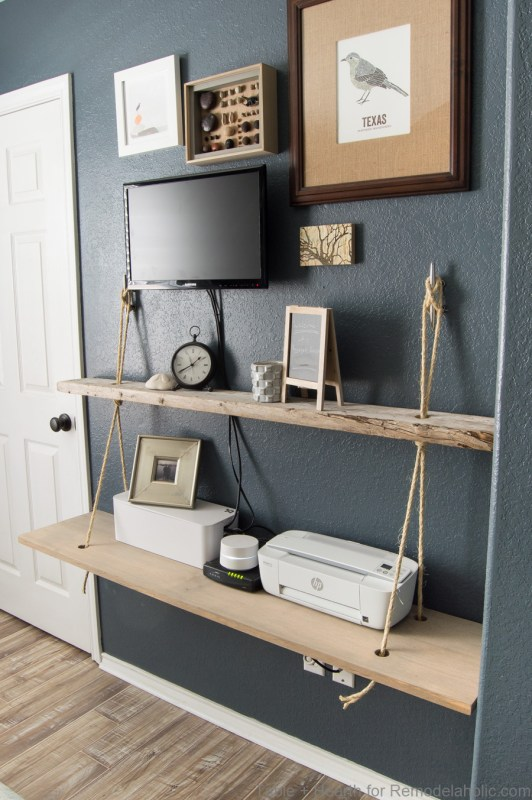 Nautical Rope Shelves Tableandhearth 25