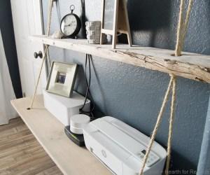 Nautical Rope Shelves Tableandhearth 28