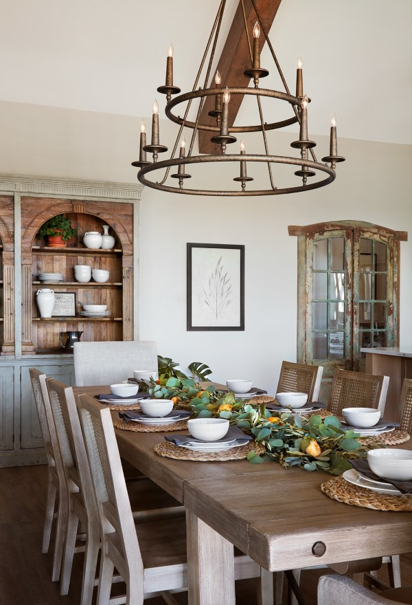Get This Look Farmhouse Dining Room Fixer Upper A Lot