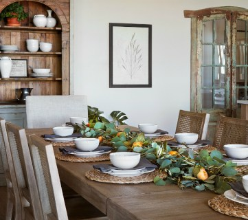 "Get This Look: Farmhouse Dining Room, Fixer Upper ""A Lot of Options"" House"