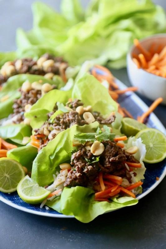 Thai Beef Lettuce Cups 7