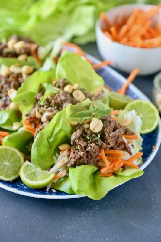 Thai Beef Lettuce Cups 8