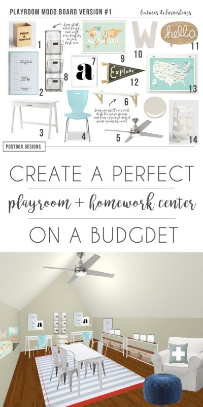 Postbox Designs: Create a Kid's Homework Station