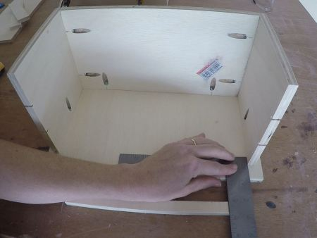 Remodelaholic Spice Cupboard Assemble (32)