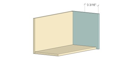 Remodelaholic Spice Cupboard Pocket Hole Layout3