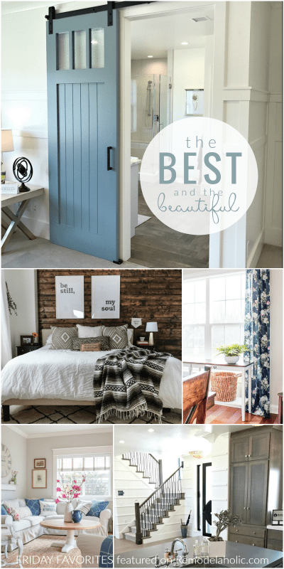 The Best And Beautiful Home Decor Ideas #fridayfavorites #remodelaholic
