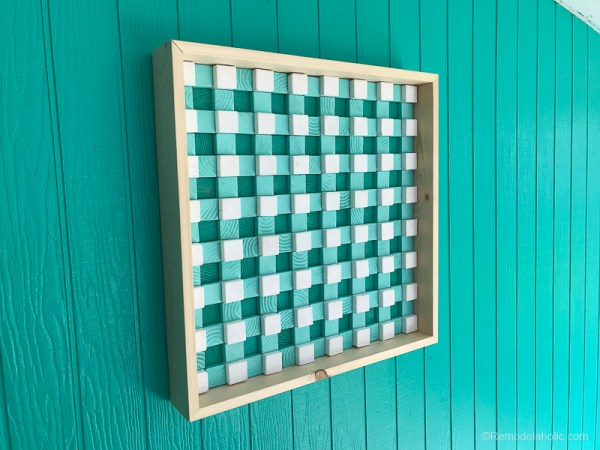 Easy Art Ideas for Kids Room Decor: 3d Wood Art Tutorial @Remodelaholic