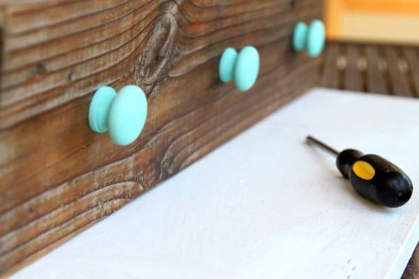 DIY Wood Wall Hanging Shelf ApieceofRainbowblog (10)