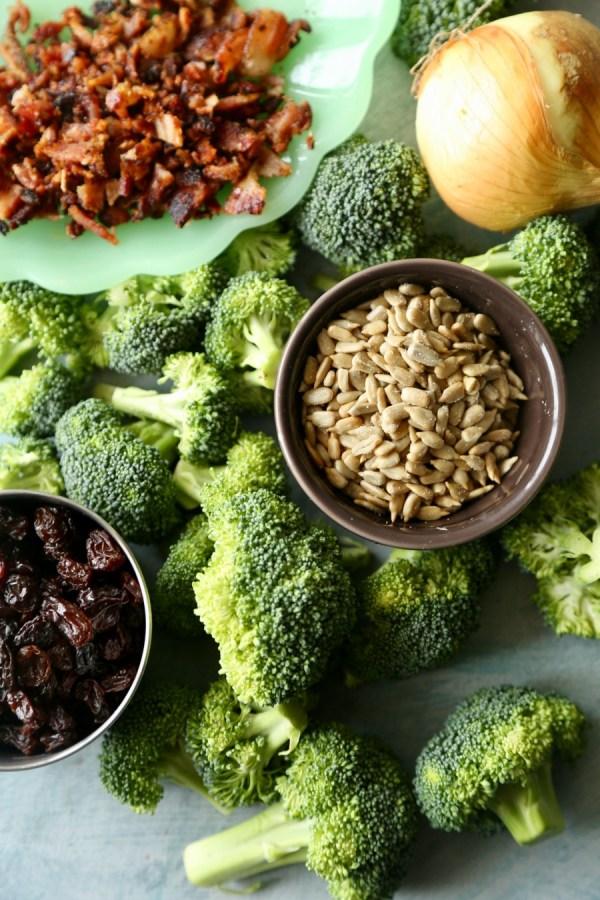 Remodelaholic Recipe Broccoli And Bacon Salad 4