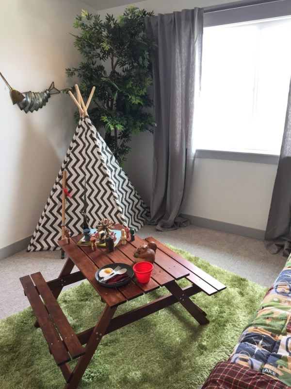 Remodelaholic Get This Look Outdoors Camping Theme Kids