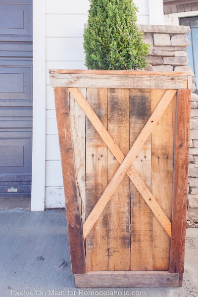 Diy Large Pallet Planter 4