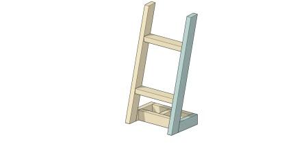 Remodelaholic Utensil Ladder (10)