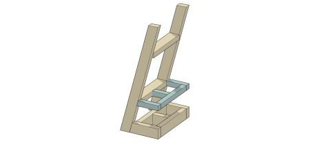 Remodelaholic Utensil Ladder (11)