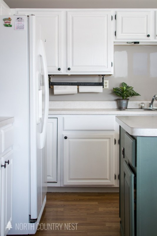 Repaint Kitchen Cabinets, North Country Nest